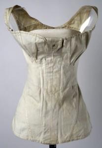 Front view, 1811 corset, Met Museum