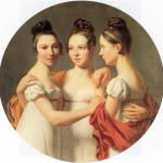 Les Trois Graces--Alexandre Jean Dubois Drahonet