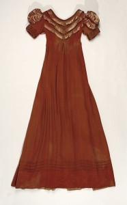Dress with long sleeves removed, 1818, Metropolitan Museum of Art