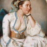 Woman in Turkish Clothing--Jean Etienne Liotard