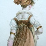 Regency print detail c. 1803 Here's an example of a turban a woman of fashion might have worn.