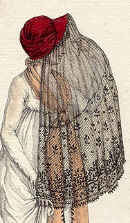 capote with veil cropped
