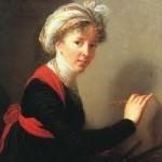 Self-Portrait (1800)--Marie-Louise Élisabeth Vigée-Lebrun