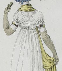 From Costume de Promenade, 1804-1805, opera gloves