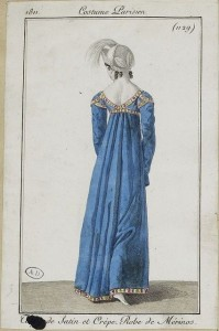 1812 costume parisien