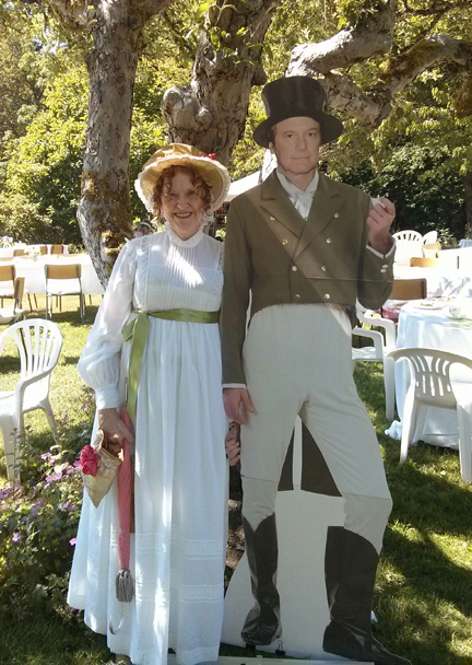 Austen Tea Party Starling Winery 2015 Lame Mr. Darcy