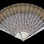 Fan, 1800-1815, French. Bone, silk, metal, wood. Brooklyn Museum Costume Collection at The Metropolitan Museum of Art.