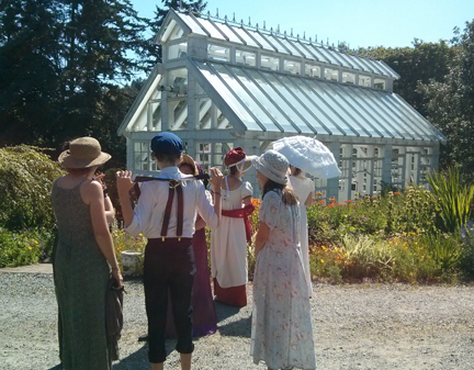Jane Austen Tea Party Starling Winery June 20 2015 2