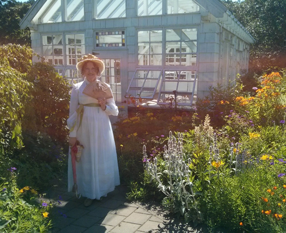 Jane Austen Tea Party Starling Winery June 20 2015  me