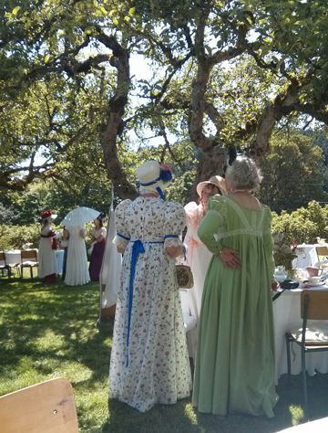 Jane Austen Tea Party Starling Winery June 20 2015