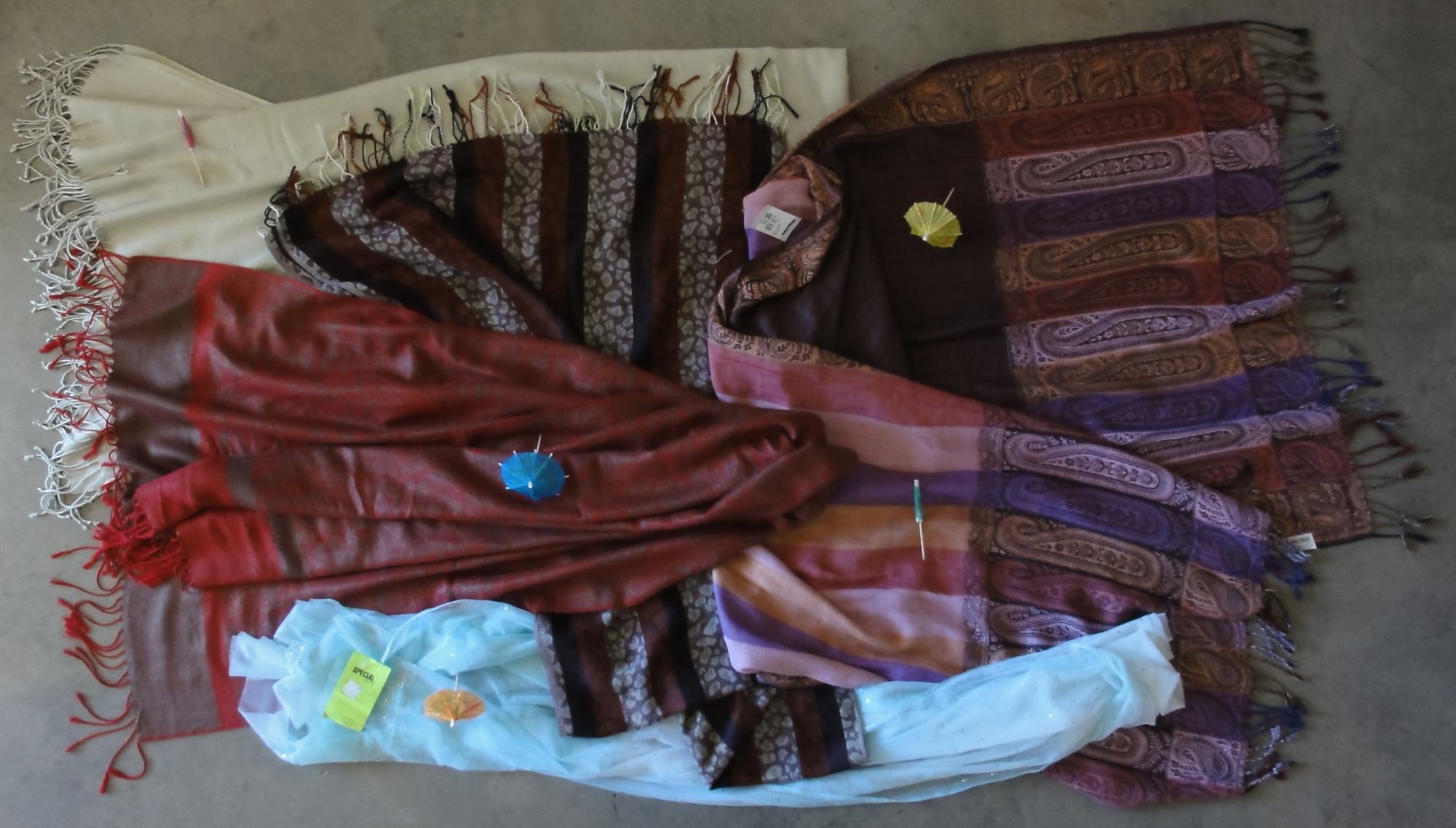 My shawls
