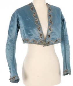 Spencer jacket, 1790-1815. Note no closure in front.