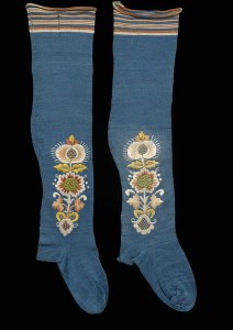 1775-1829 stockings, Victoria and Albert Museum