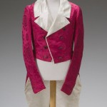 Post-Regency example for fun! 1825-1830 dress coat