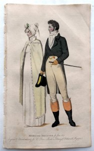Beau Monde, 1807, Morning Dress
