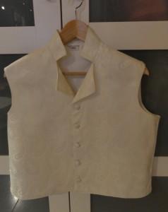 Ivory paisley waistcoat, final