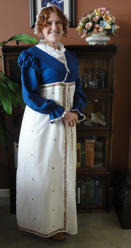 Suzan Lauder costume JASNA tea Sept 15