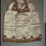 Waistcoat, 1805-1810, Mccord Museum, Montreal. Note the embroidery.