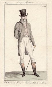 Top hat, Costume Parisien, 1809
