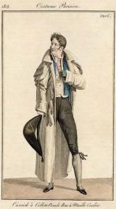 Bicorne hat, Costume Parisien, 1819
