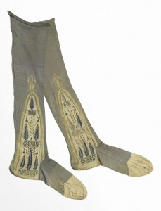 Stockings, early 19th century Cooper Hewitt collection