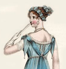 Evening Dress October 1811