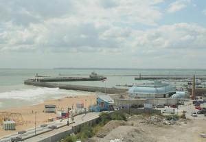 Modern Ramsgate beach.