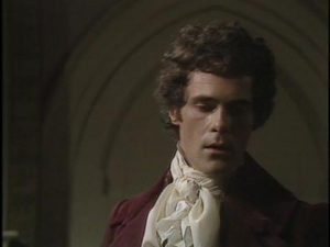 "David Rintoul as Mr. Darcy in BBC's 1980 mini-series ""Pride and Prejudice."" Mr. Rintoul wore a hairpiece for the role."