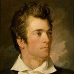 American artist George Catlin (1796-1872) Self-portrait, 1824.